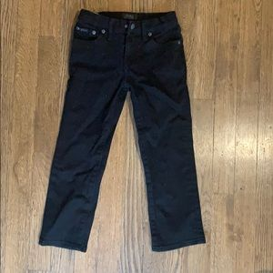 Polo by Ralph Lauren black jeans size 4/4T